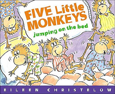 iPad App Review - Five Little Monkeys Jumping on the Bed