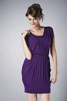 CA001233 ML Calypso Nursing Dress - Purple