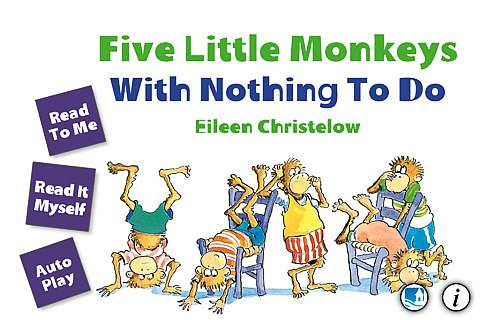 iPad App Review - Five Little Monkeys With Nothing to Do