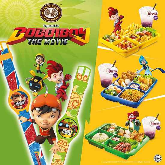 Boboiboy The Movie Junior Meal