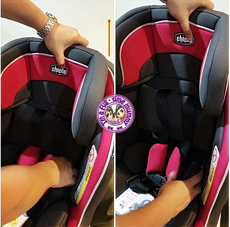 Chicco Nextfit Convertible Car Seat Passion USA