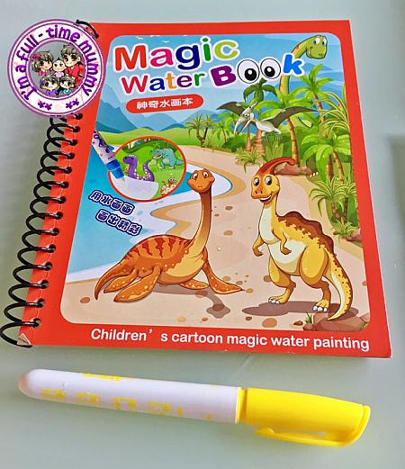 Magic Water Drawing Colouring Book